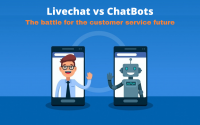 Livechat vs chatbot