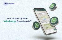How to setup whatsapp broadcasts